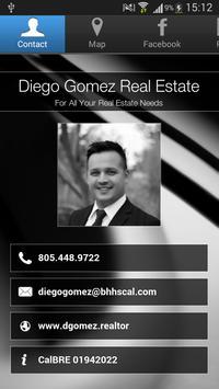 Diego Gomez Real Estate poster