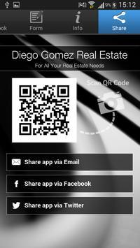 Diego Gomez Real Estate apk screenshot