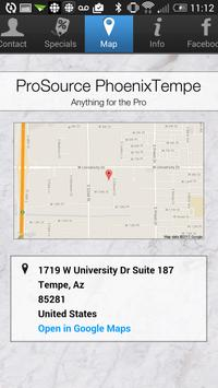 ProSource PhoenixTempe apk screenshot