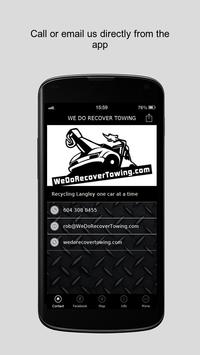 WE DO RECOVER TOWING apk screenshot