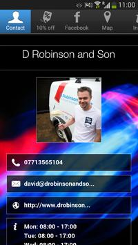 D Robinson and Son poster