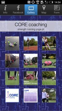 CORE coaching apk screenshot