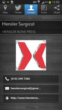 Hensler Surgical poster