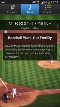 MLB SCOUT ONLINE apk screenshot