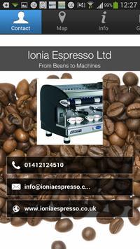 Ionia Espresso Ltd poster