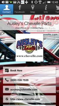 Ausley's Chevelle Parts poster
