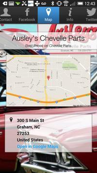 Ausley's Chevelle Parts apk screenshot