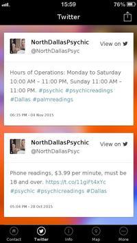 North Dallas Psychic poster