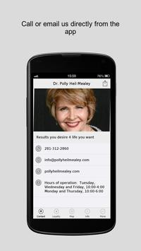Dr. Polly Heil-Mealey poster