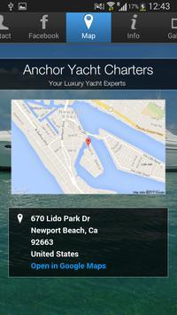 Anchor Yacht Charters apk screenshot