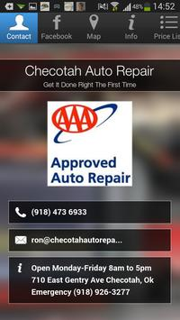 Checotah Auto Repair poster