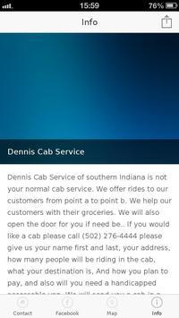 Dennis Cab Service poster