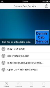 Dennis Cab Service apk screenshot
