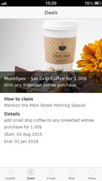 Main Street Coffee House apk screenshot