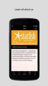 Starfish Rentals & Realty apk screenshot