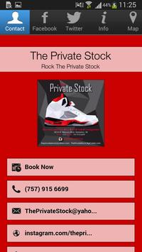 The Private Stock poster