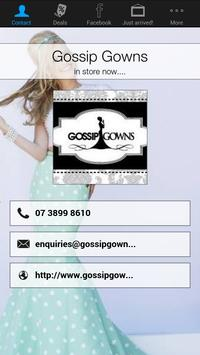 Gossip Gowns poster