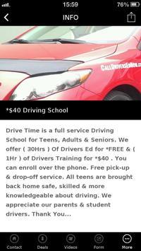DRIVING SCHOOL apk screenshot