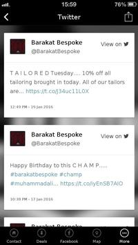 Barakat Bespoke apk screenshot