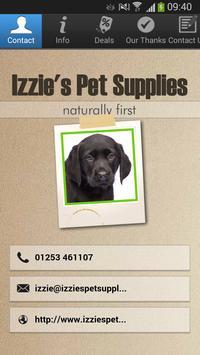 Izzie's Pet Supplies poster