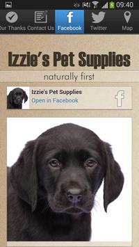 Izzie's Pet Supplies apk screenshot
