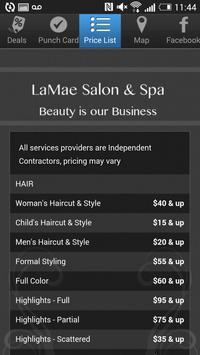 LaMae Salon & Spa apk screenshot