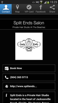 Split Ends Salon poster