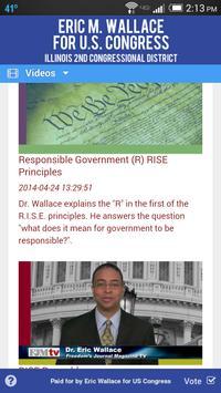 Eric Wallace for Congress apk screenshot