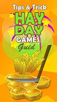 Tips Guide Hay Day poster
