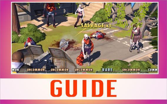 Guide for Zombie Anarchy: War apk screenshot