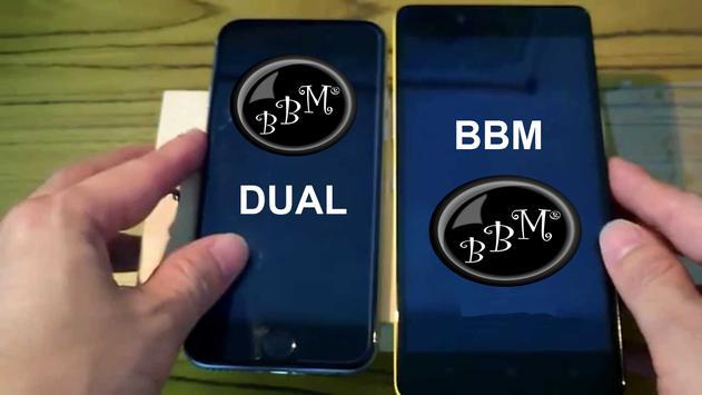 Dual BBM® Terbaru poster