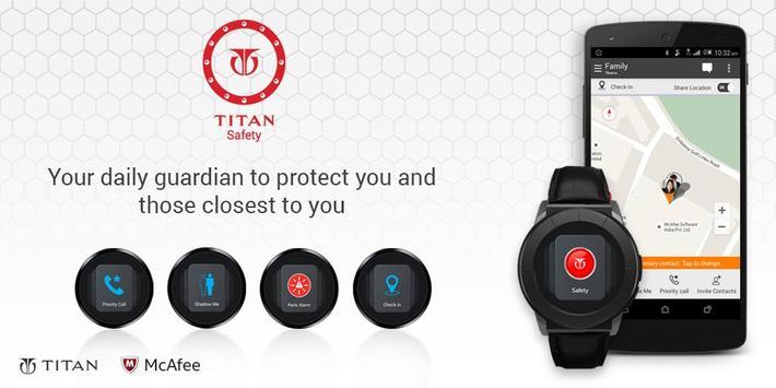 TITAN Safety for JUXT PRO poster
