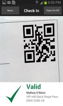 TixClix Mobile Scanner apk screenshot