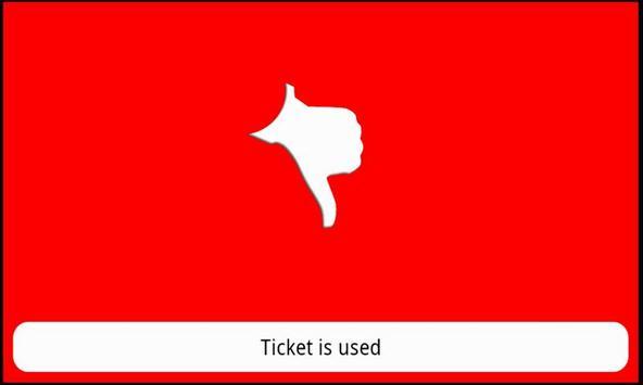 Peach Scan Ticket Validator apk screenshot