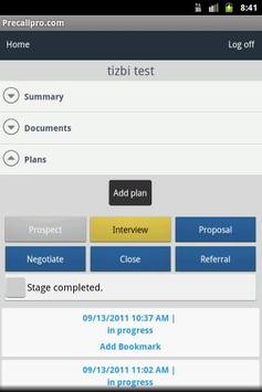 Precallpro apk screenshot
