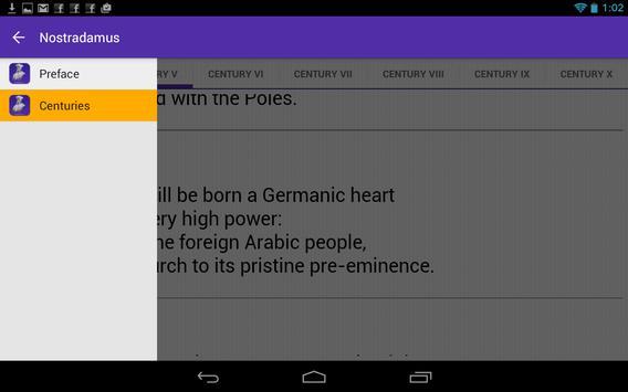Nostradamus the Prophet apk screenshot