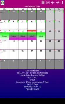 Schichtkalender S4A poster