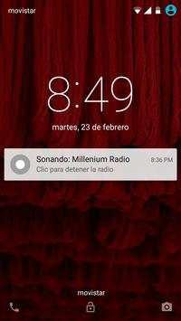 Millenium Radio TV apk screenshot