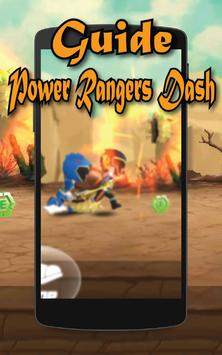 Guide for Power Rangers Dash poster