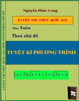 Luyện thi THPT Quốc Gia toán poster
