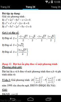 Phương trình thi lớp 9 vào 10 apk screenshot