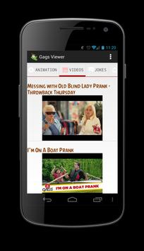 Gags YouTube Videos Images apk screenshot