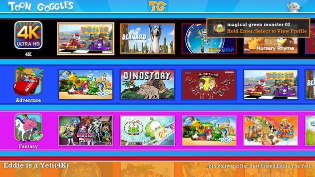 Toon Goggles for Sony TV apk screenshot