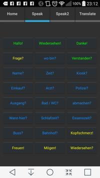 Speach Pro tts / stt Deutsch apk screenshot