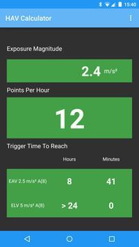 HAV Calculator apk screenshot