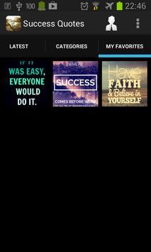 Success Quote Wallpaper apk screenshot