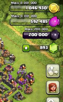 New cheat for Clash of Clans apk screenshot