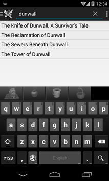 Books of Dishonored apk screenshot