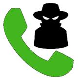 Onbekend bellen icon