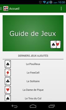 Guide de Jeux de Cartes poster